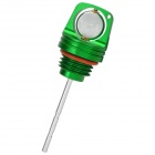 JOG Universal Motorcycle Aluminum Alloy CNC Cutting Engine Oil Dipstick - Green