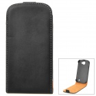 Stylish Protective PU Leather Case for Samsung Galaxy Express i8730 - Black