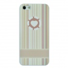 Colorfilm 3D Painting Emboss Protective Plastic Back Case for Iphone 5 - Multicolored