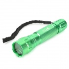 UltraFire 501B Aluminum Alloy Flashlight Case w/ Bicyle Mount / Strap - Green