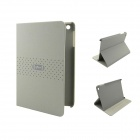 Simple Business Protective PU Leather Case for Ipad MINI - Grey