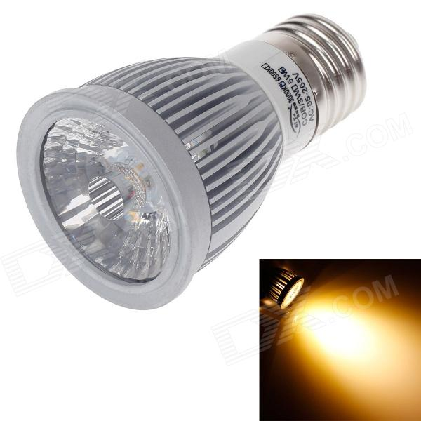 ZIYU ZY-655 E27 5W 500lm 3000K COB LED Warm White Light Lamp Bulb - Silver + White (85~265V) цена