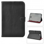 Protective PU Leather Case for Samsung Galaxy Note 8.0 N5100 - Black