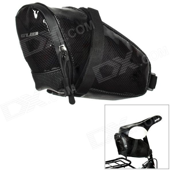 GUB 3351 Waterproof Cycling Bicycle Saddle EVA Bag - Black gub 3342 multifunction waterproof bicycle bike tail bag grey black