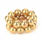 5mm Buckyballs NdFeB Magnetic Magic Beads - Golden (20 PCS)