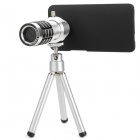 12X Zoom Camera Lens Telescope for HTC One M7 - Silver + Black