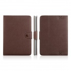 ENKAY ENK-7206 Simple Style Protective PU Leather Case for Amazon Kindle Fire HD 8.9 - Brown