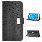 Cool Protective PU Leather Case for Samsung Galaxy S4 i9500 - Black