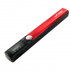 MSI--002 Portable W4S Wi-Fi  Handheld Scanner - Black + Red
