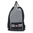 Victoria Cross Outdoor Travel Backpack - Black