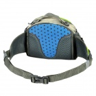 Naturehike Multifunctional Water Resisting Polyester Fiber Waist Bag for Hiking - Gray + Green (8L)