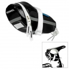 ROSWHEEL 13660-A Cycling Bicycle Saddle Glossy PU Bag - Black
