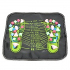 JK-35 Healthy Foot Care Massage Mat Pad - Multicolored (35 x 35cm)