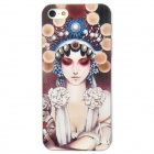 ENKAY ENK-6001A Peking Opera Mask Pattern Protective PC Back Case for Iphone 5 - Multicolored