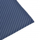 Car Decorative 3D Carbon Fiber PVC Sticker - Steel Blue (30 x 127cm)