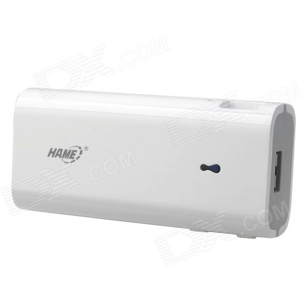 HAME R1 Portable 5V 4400mAh Li-ion Battery Wi-Fi Power Bank / 3G Router for Cellphone + More - White
