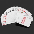 High Quality Paper Playing Poker Cards - Red