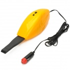 Portable Handheld Vacuum Cleaner for Car - Yellow