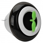 LYL MNXL-300 Portable USB Air Purification máquina w / Car Charger Powered - Branco + Preto + Verde