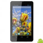 "IPPO 7"" 1080p TFT Dual Core Android 4.1.2 Tablet PC w/ 512MB RAM / 4GB ROM / 2 x SIM / GPS - Silver"
