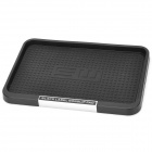 SD-1030 Multi-Functional Silicone Car Anti-Slip Goods Placement Pad - Black