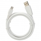 USB to Micro USB Data/Charging Cable for Android Cell Phones - White (110CM)