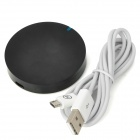 Metrans MWT03 Super Mini Micro USB Wireless Charger Transmitter for Nokia / Samsung + More - Black