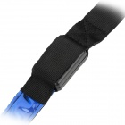 Blue Light Four Mode LED Flashing Dog Cat Leash - Blue + Black (1 x CR2032 / 120CM-Length)