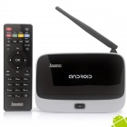 Jesurun DX05 Quad-Core Android 4.2.2 Google TV Player w/ 2GB RAM, 8GB ROM - Black + Silver (US Plug)