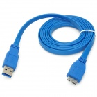 UNITEK Y-C415 USB 3.0 Type-A Male to Micro-B Connection Cable for Mobile HDD - Blue (1.5m)