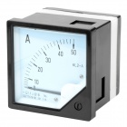 6L2-A AC Ammeter Current Panel Meter - Black