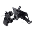 Motorcycle 360 Degree Rotation Mount Holder for Samsung Galaxy S4 i9500 - Black