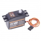 EMAX ES3001 ABS Analog Servo w/ Gears and Parts - Black (4.8~6.0V)