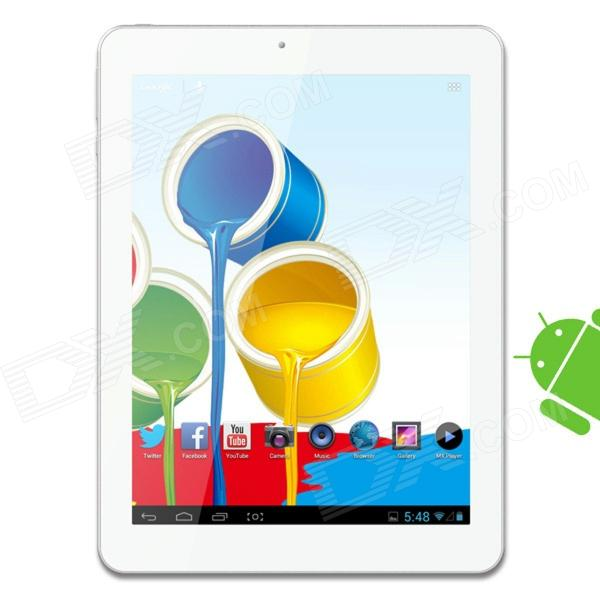 Ainol NOVO8 Discovery 8 IPS Quad-Core Android 4.1.1 Tablet PC w/ 16GB ROM, 1GB RAM - White + Silver ainol windows mini pc z3735f 2g ram 7000mah power bank otg