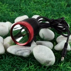 NITEFIRE NFC-10 Cree XM-L T6 680lm 3-Mode Cool White Bicycle Headlamp - Black + Red (4 x 18650)