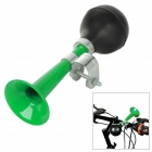 Classic Squeeze Air Bag Horn Trumpet for Bicycle - Green + Black