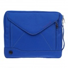 "PADWA Universal Dual-Zipper Protective Bag for 13"" Notebook / Tablet - Blue"