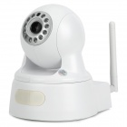 IP-601MW H.264 2.0MP Security IP Network Camera w/ Wi-Fi / 12-LED / TF / RJ45 / IR-Cut - White
