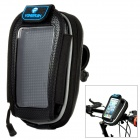 YONGRUIH AB1 Hard Shell Bicycle Handlebar Mobile Phone Bag w/ Touch Screen Window - Black