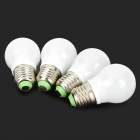Cnlight E27 3.8W 250lm 3500K 5 x SMD 5630 LED Warm White Bulb (4 PCS / 220V)