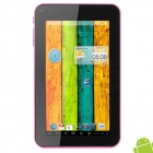 "IPPO A70x 7"" TFT Dual Core Android 4.2.2 Tablet PC w/ 512MB RAM / 4GB ROM / G-Sensor - Pink + Black"