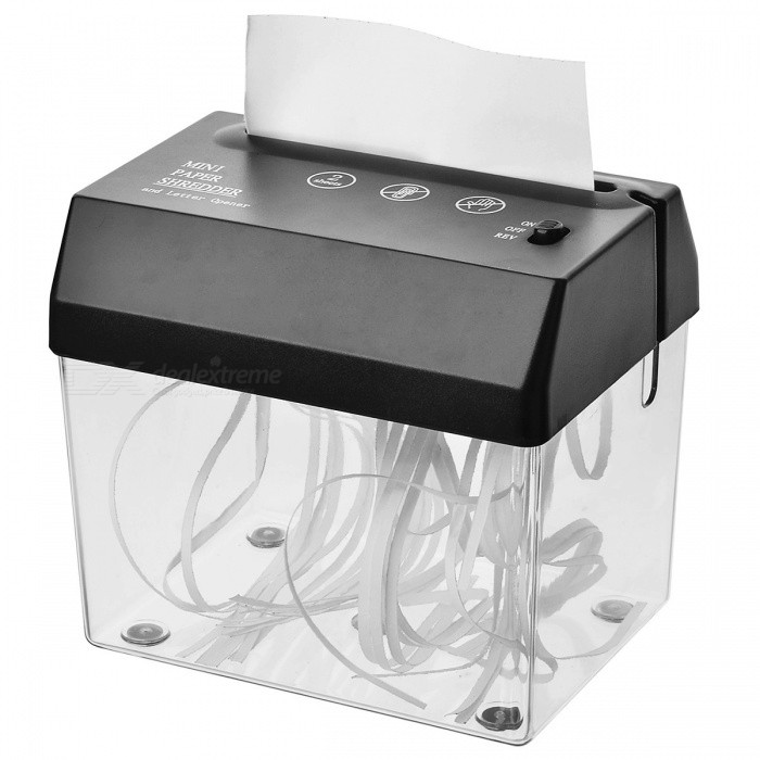 USB-virtalähde Mini Desktop Shredder