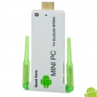 VS20a+ Quad-Core Android 4.2.2 Google TV Player w/ 2GB RAM / 8GB ROM / Bluetooth - White + Green