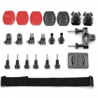 miniisw K-B 7-In-1 Multi-purpose Mount Kit for Gopro Hero 3+/3/2/1 + RD32/36 + AEE Sport Cameras