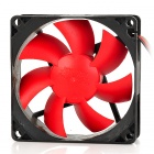 FengYuan Cooler 11DB Hydraulic Bearing 1400RPM Cooling Gear for Desktop Computer - Black + Red