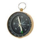 SW2031 Compact Durable Aluminum Alloy Casing Compass - Black + Golden
