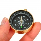 SW2031 Compact Durable Aluminum Alloy Casing Compass - Ouro Preto +