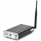 FX-AUDIO- FX1602S Mini 160W x 2 Hi-Fi Bluetooth Digital Amplifier - Black + Silver