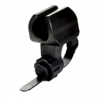 LETDOOO Handy Headlight Front Light Plastic Holder Bracket for Bicycle - Black
