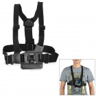 Miniisw M-C 1 Elastic Chest Belt w/ J-shape Fast Assemble Plug for Gopro Hero 4/ 1/2/3/3+/SJ4000